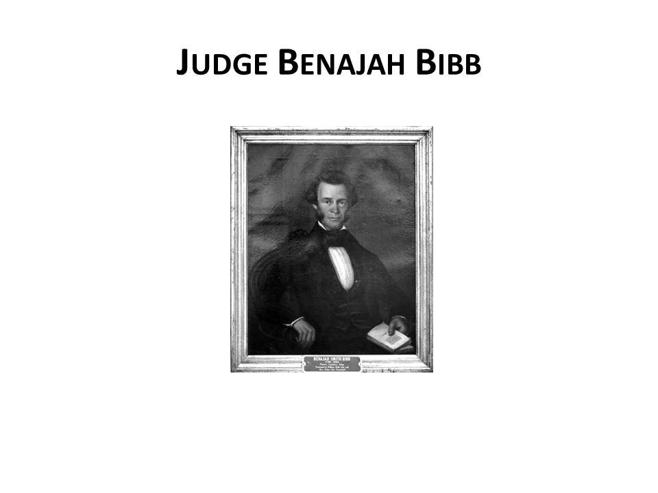 J UDGE B ENAJAH B IBB