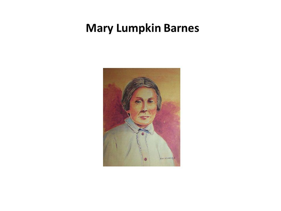 Mary Lumpkin Barnes
