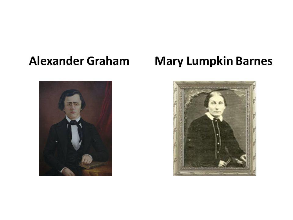 Alexander GrahamMary Lumpkin Barnes