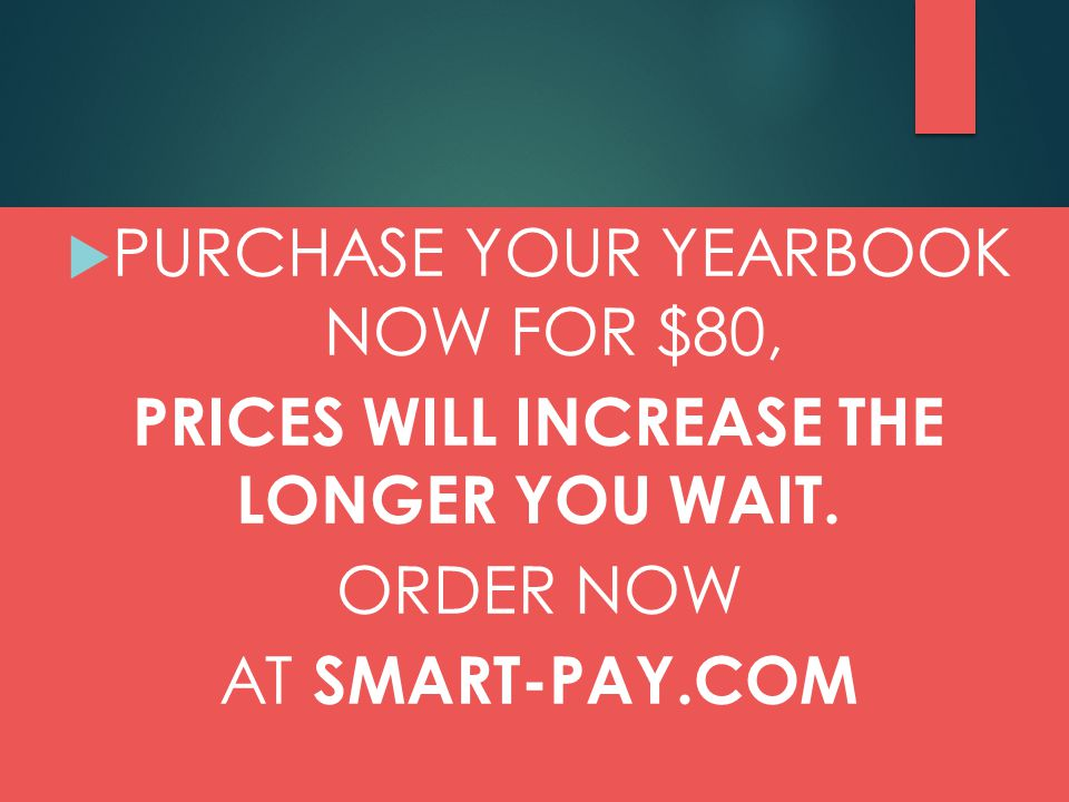  LAST DAY TO ORDER A PERSONALIZED BOOK IS THIS FRIDAY, FEBRUARY 27!!!!!