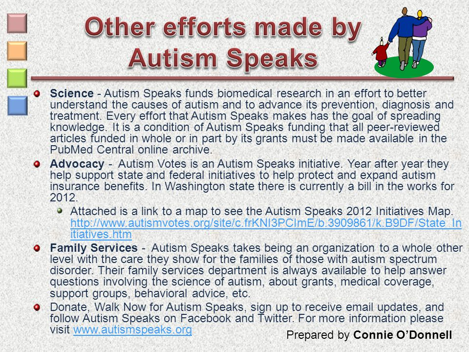 Science - Autism Speaks funds biomedical research in an effort to better understand the causes of autism and to advance its prevention, diagnosis and