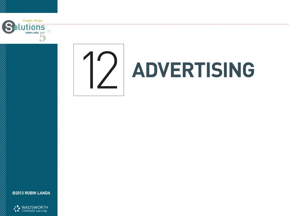 Objectives Grasp the purpose of advertising Become aware of who creates advertising Understand the advertising design process Grasp the role of storytelling in advertising Examine what constitutes an advertising campaign Learn creative approaches to utilize during idea generation Realize the strategy behind commercials Explore unconventional advertising approaches Practice ethical advertising