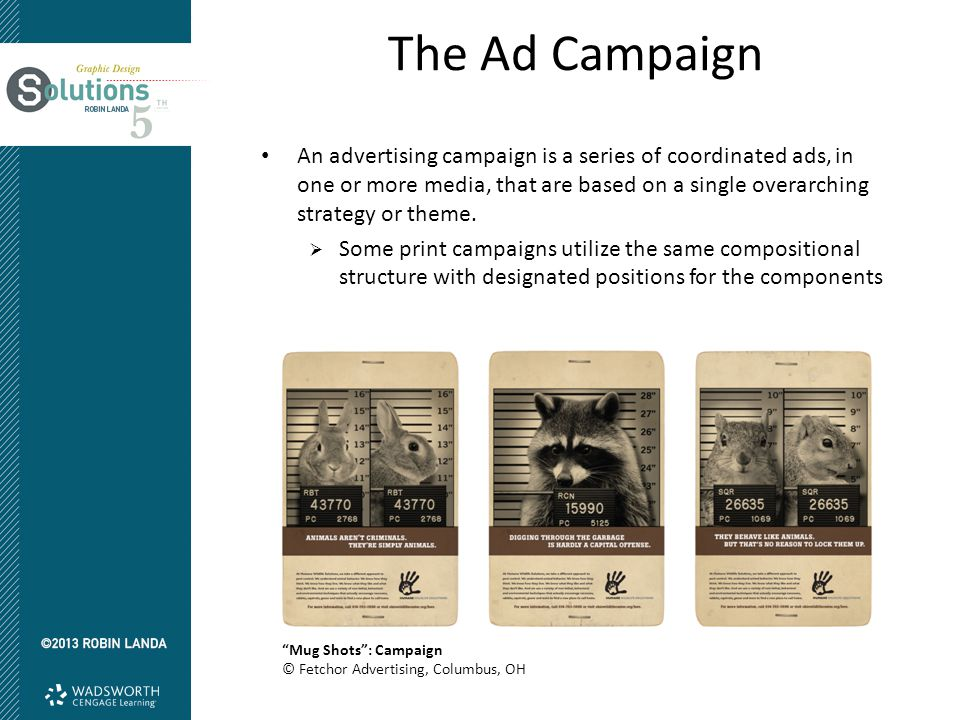 The Ad Campaign An advertising campaign is a series of coordinated ads, in one or more media, that are based on a single overarching strategy or theme