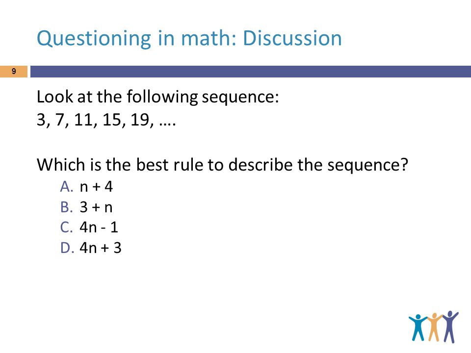 Questioning in math: Diagnosis In which of these right-angled triangles is a 2 + b 2 = c 2 .