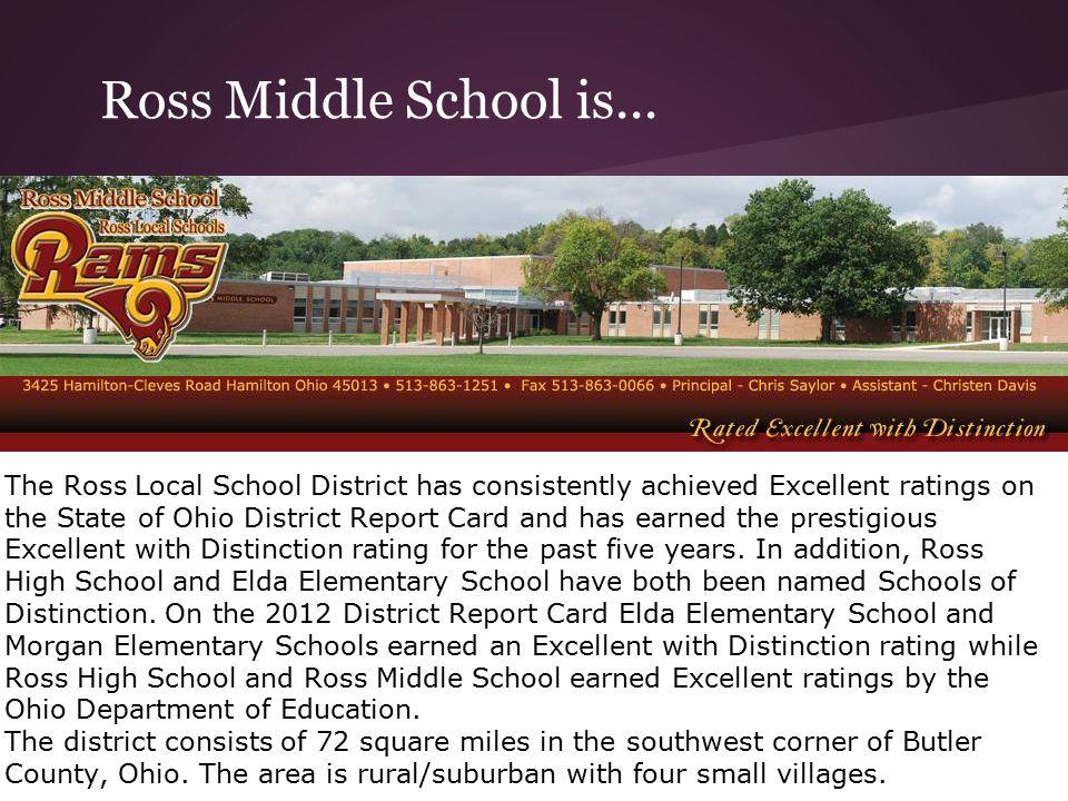 Ross Middle School is...