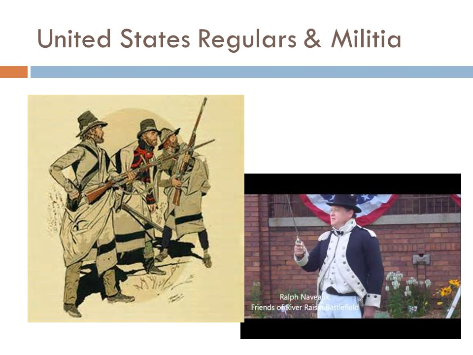 United States Regulars & Militia