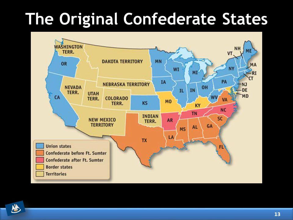 The Original Confederate States 13