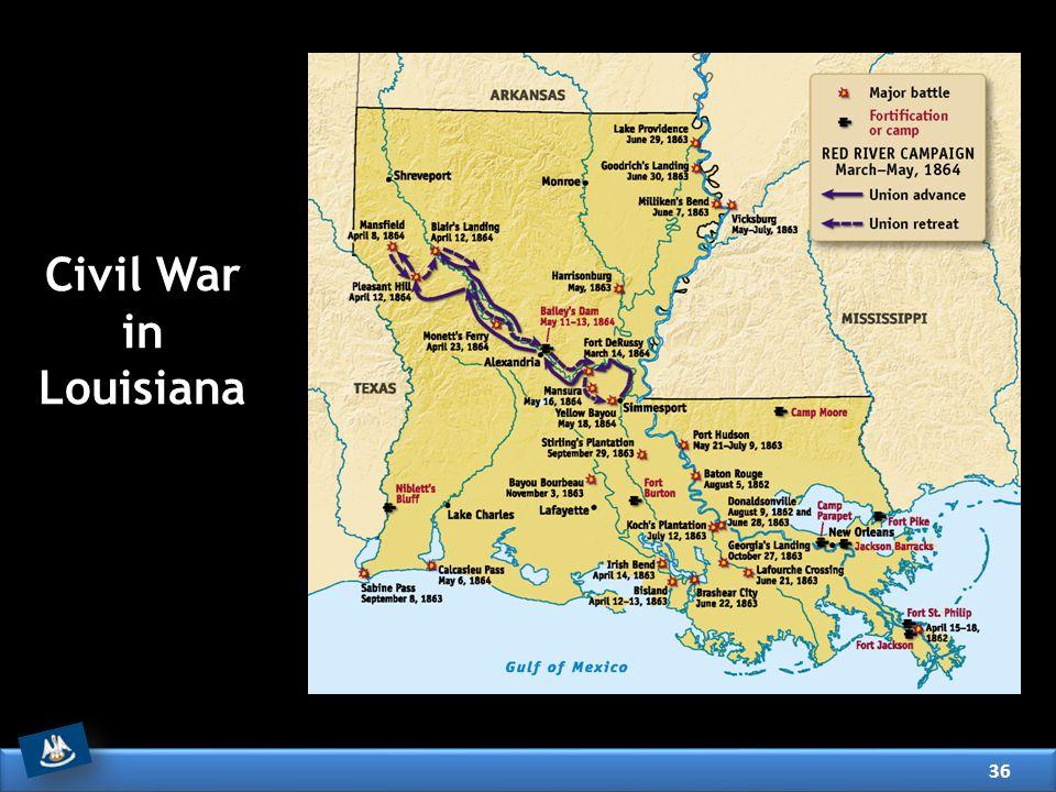 Civil War in Louisiana 36