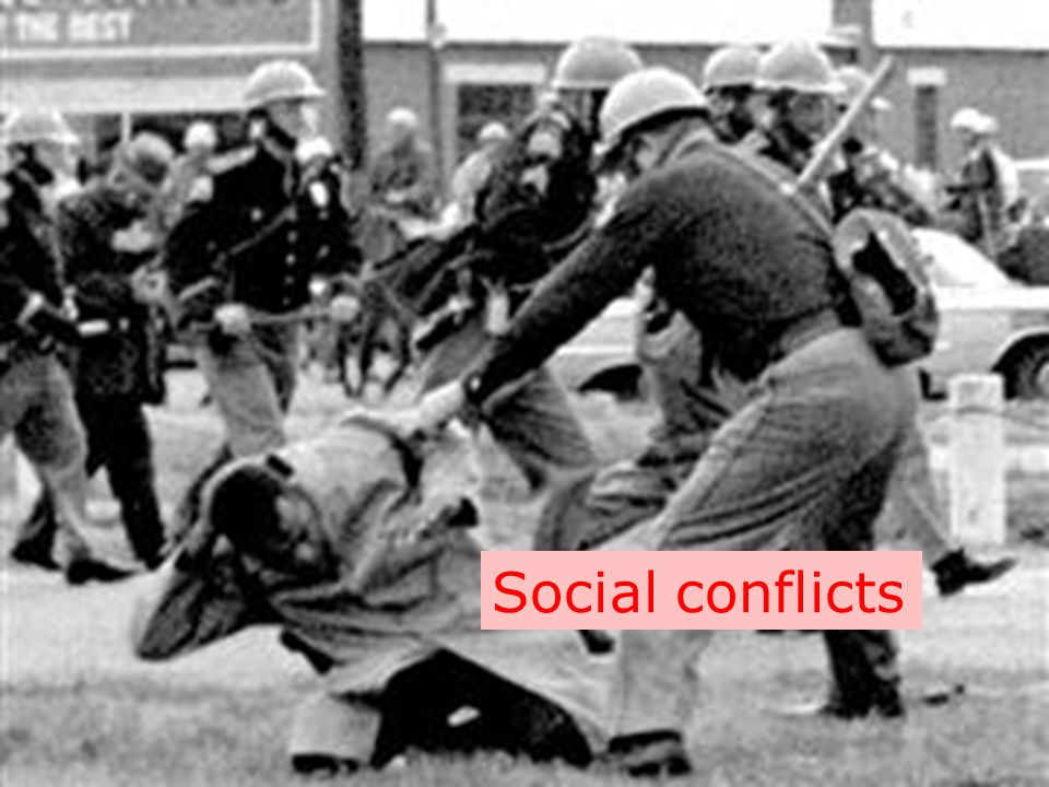 Social conflicts
