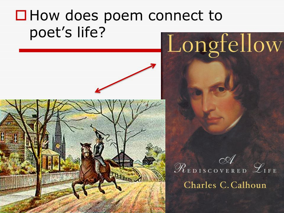  How does poem connect to poet's life