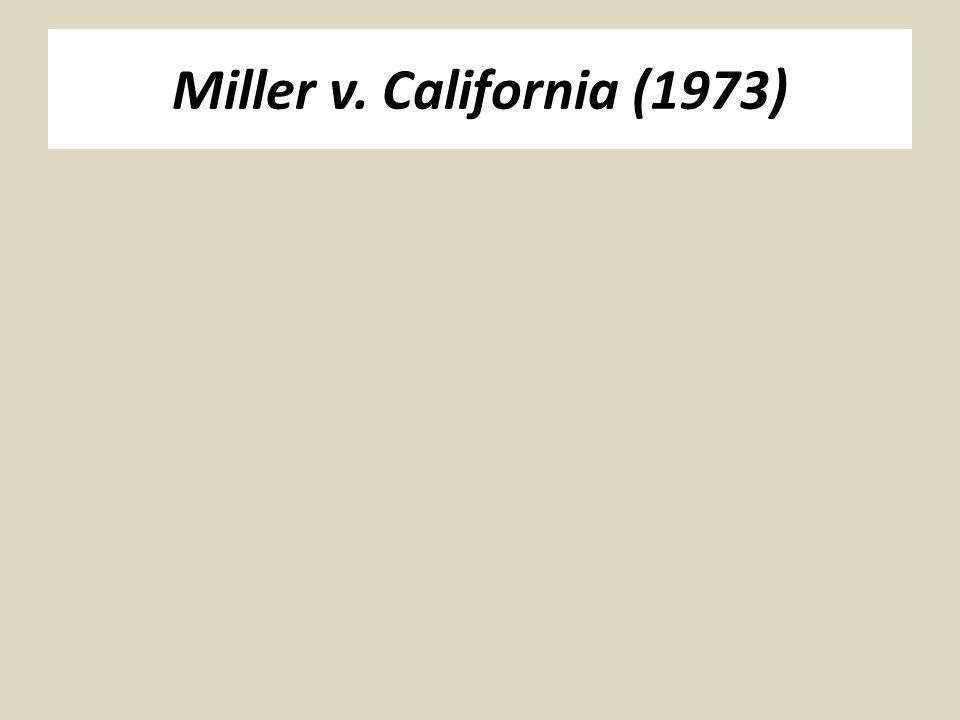 Miller v. California (1973)