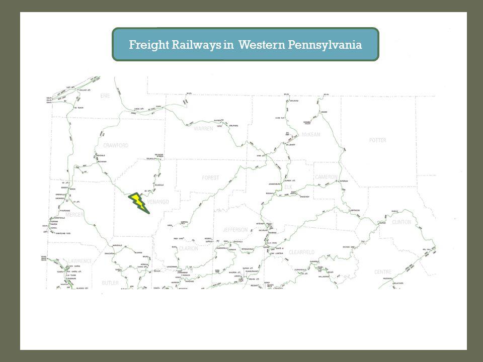 Freight Railways in Western Pennsylvania