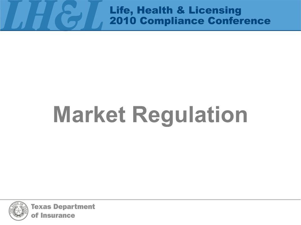 Market Regulation