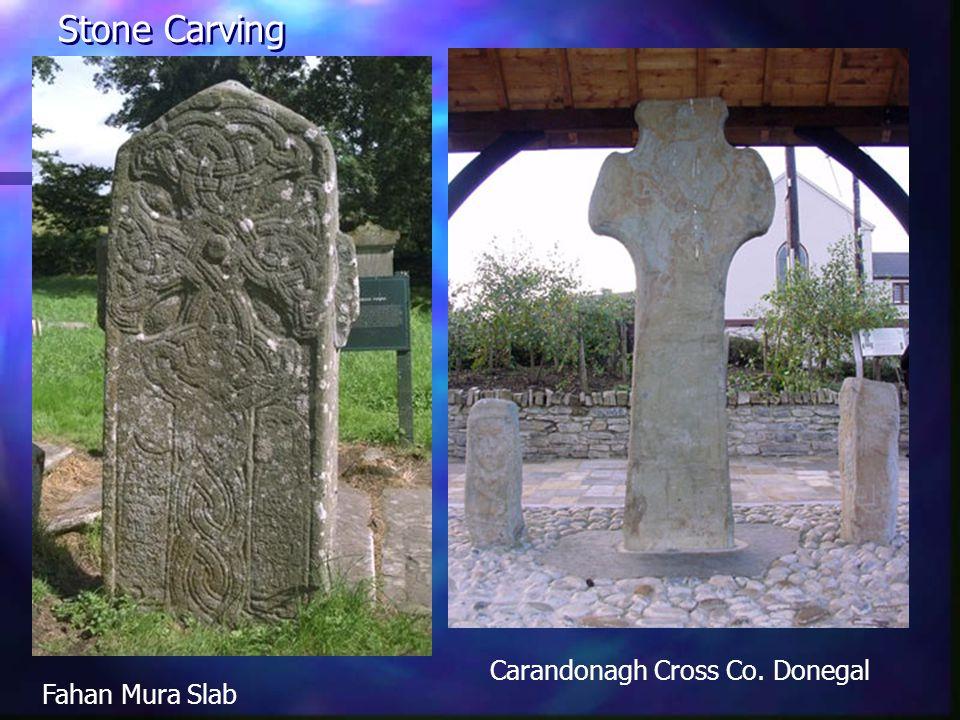 Carandonagh Cross Co. Donegal Stone Carving Fahan Mura Slab
