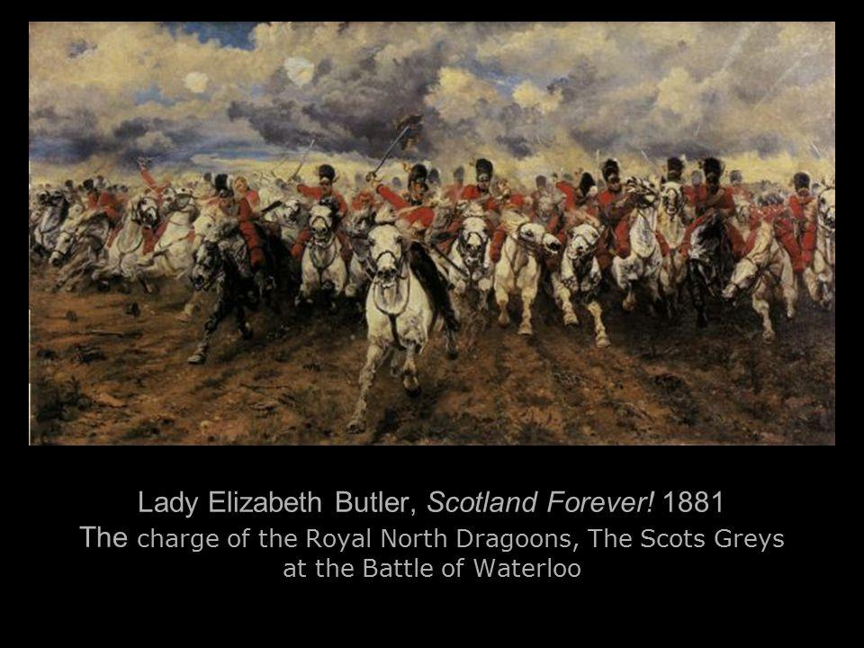 Lady Elizabeth Butler, Scotland Forever.