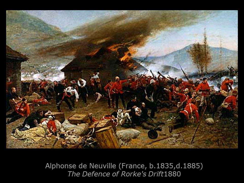 Alphonse de Neuville (France, b.1835,d.1885) The Defence of Rorke s Drift1880