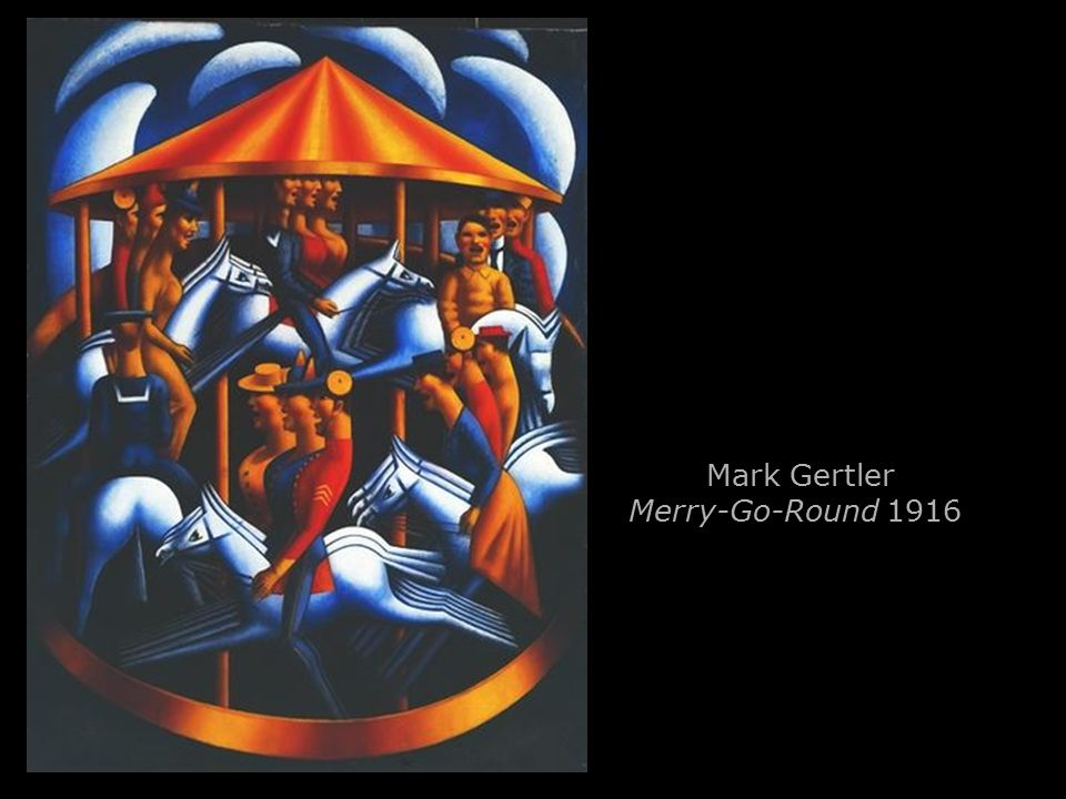 Mark Gertler Merry-Go-Round 1916