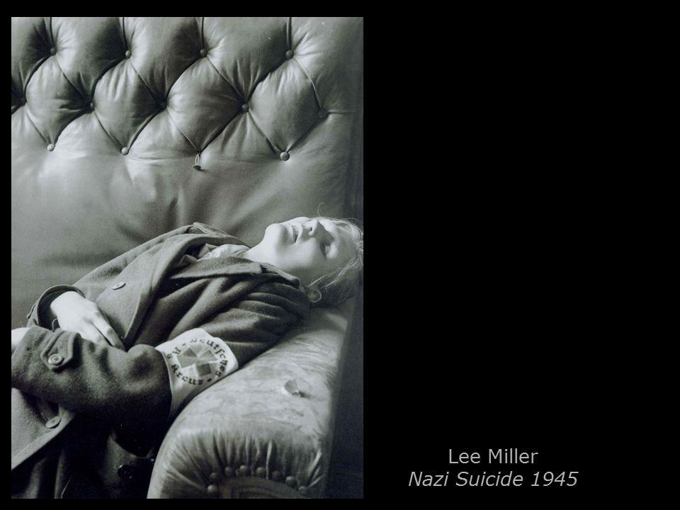 Lee Miller Nazi Suicide 1945