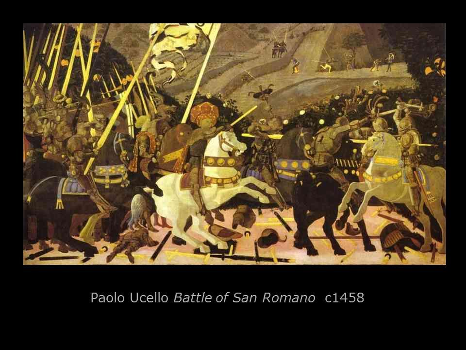 Paolo Ucello Battle of San Romano c1458