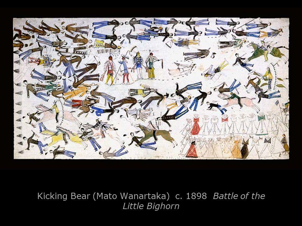 Kicking Bear (Mato Wanartaka) c. 1898 Battle of the Little Bighorn
