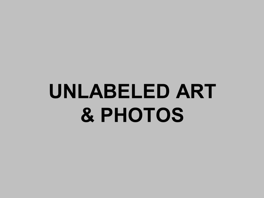 UNLABELED ART & PHOTOS