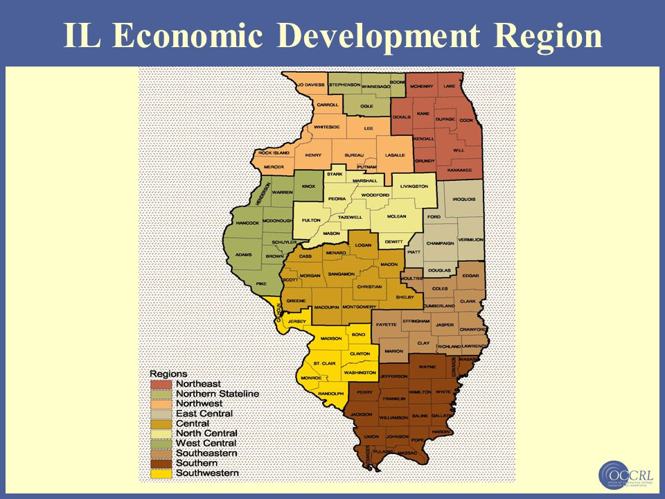 IL Economic Development Region