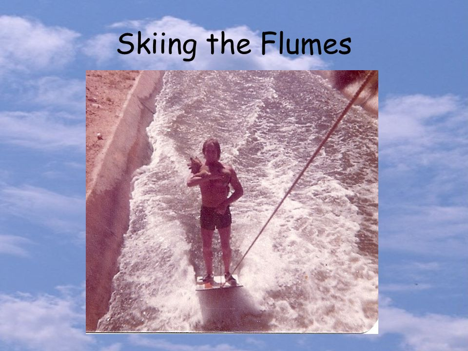 Skiing the Flumes