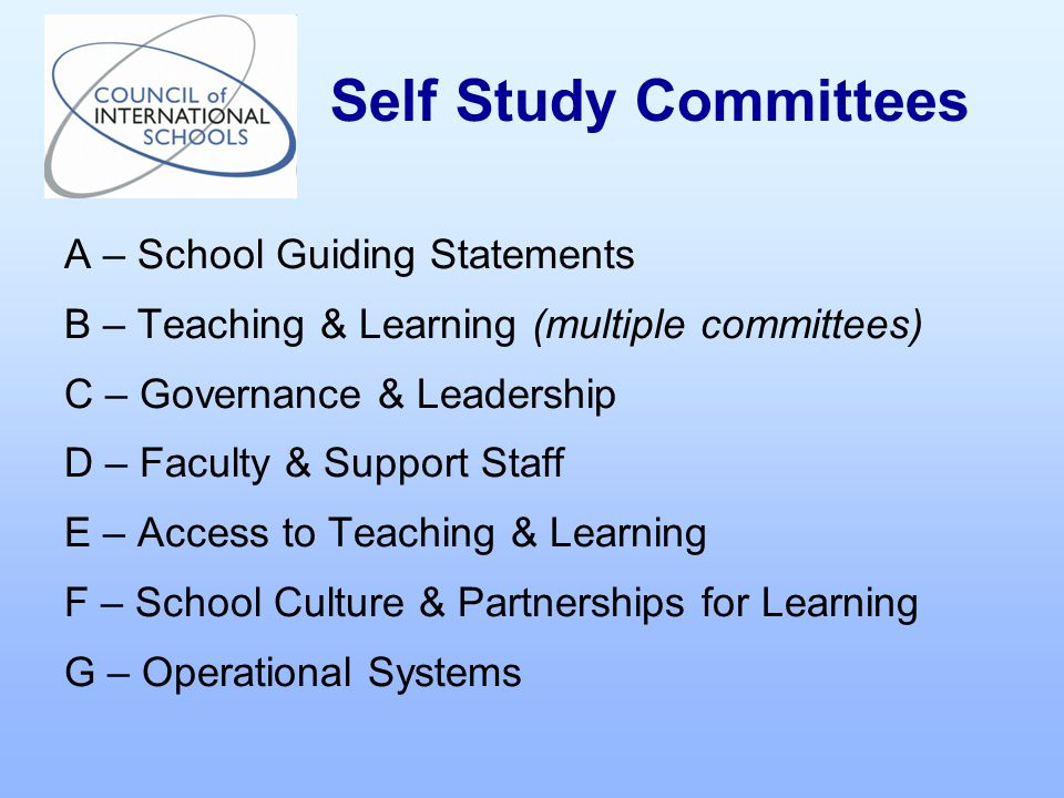 A – School Guiding Statements Guiding Statements: vision, mission and statement of educational objectives.