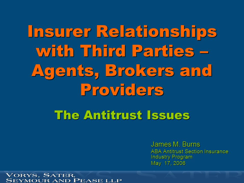 ACTIONS INSTITUTED BY THE ANTITRUST DIVISION AGAINST PROVIDERS (for anticompetitive action effecting insurers)  U.S.