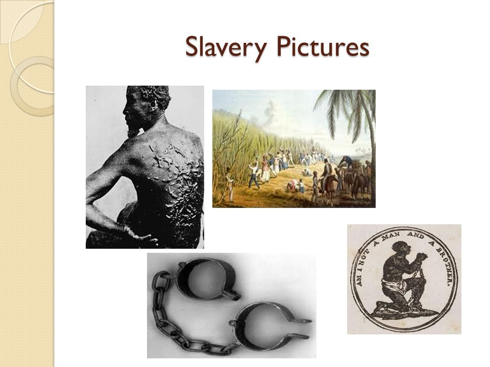Slavery Pictures
