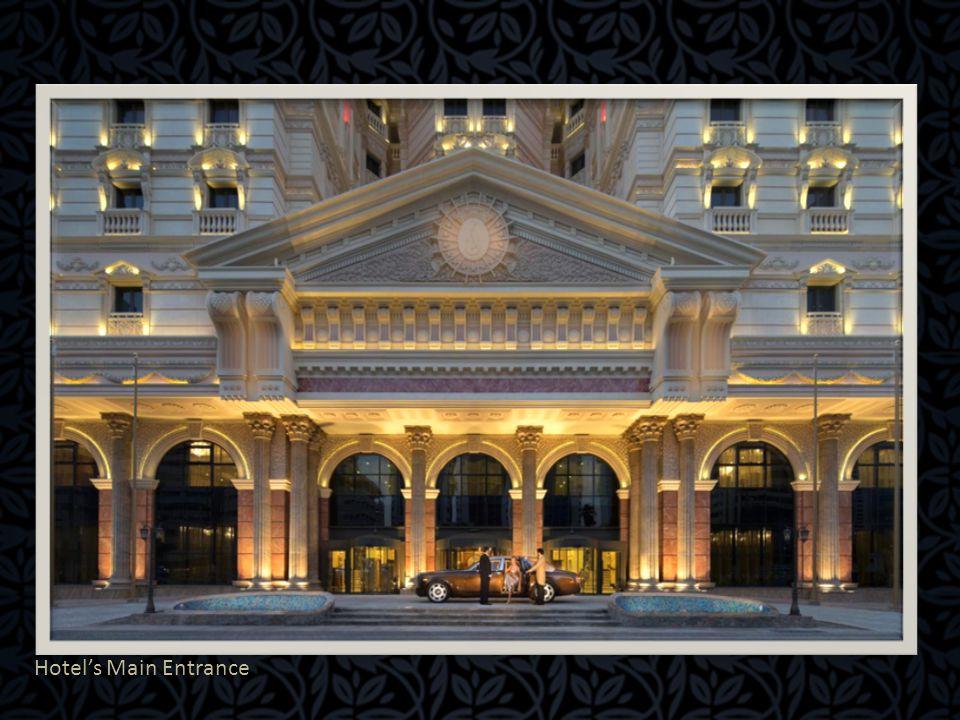 Hotel's Main Entrance