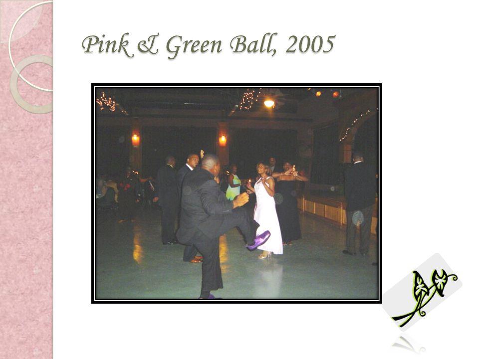 Pink & Green Ball, 2005