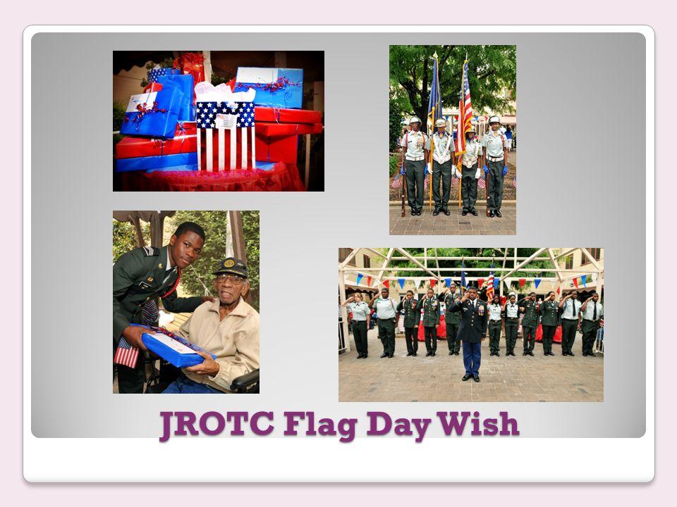 JROTC Flag Day Wish