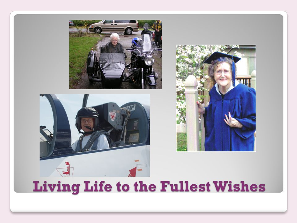 Living Life to the Fullest Wishes Nick S. and His WWII Shipmate