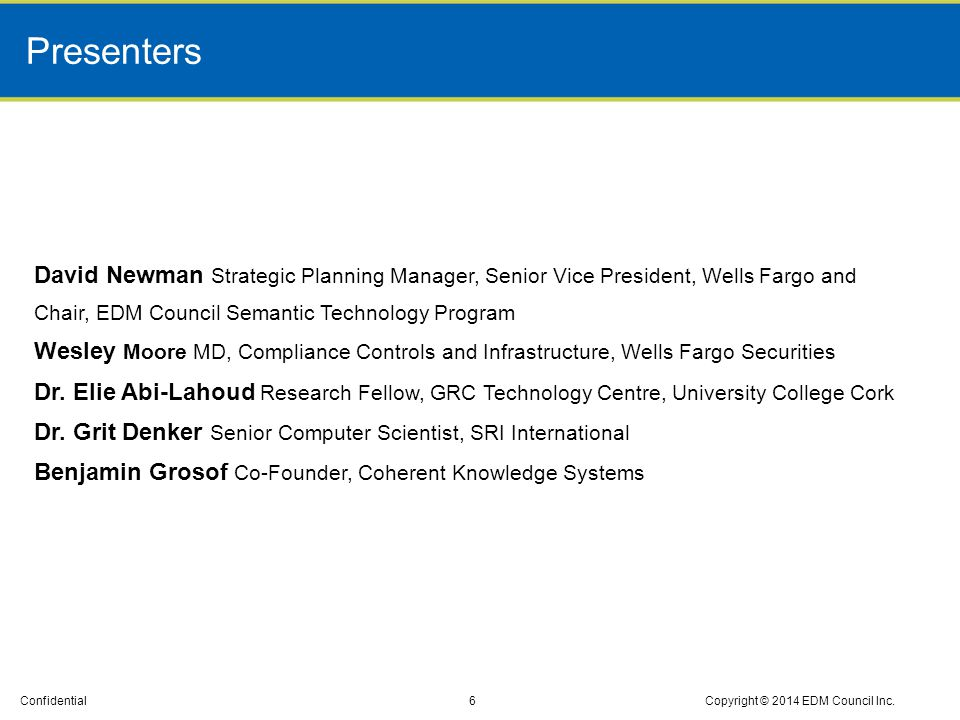 Confidential Reg-W Covered Transaction Scen arios Spreadsheet with 17 Reg-W scenarios Copyright © 2014 SRI International27