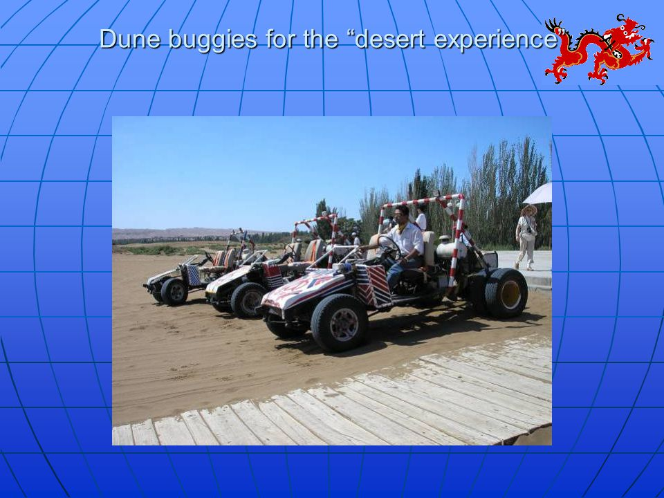 Dune buggies for the desert experience