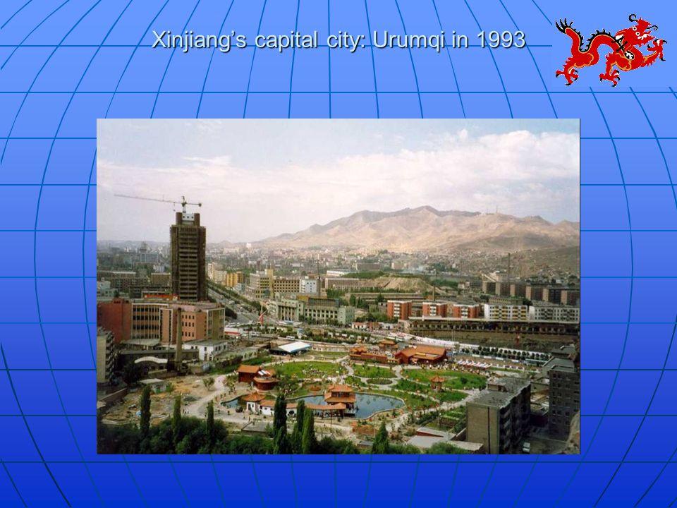 Xinjiang's capital city: Urumqi in 1993
