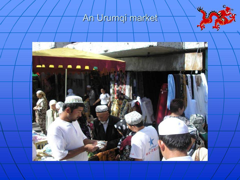 An Urumqi market