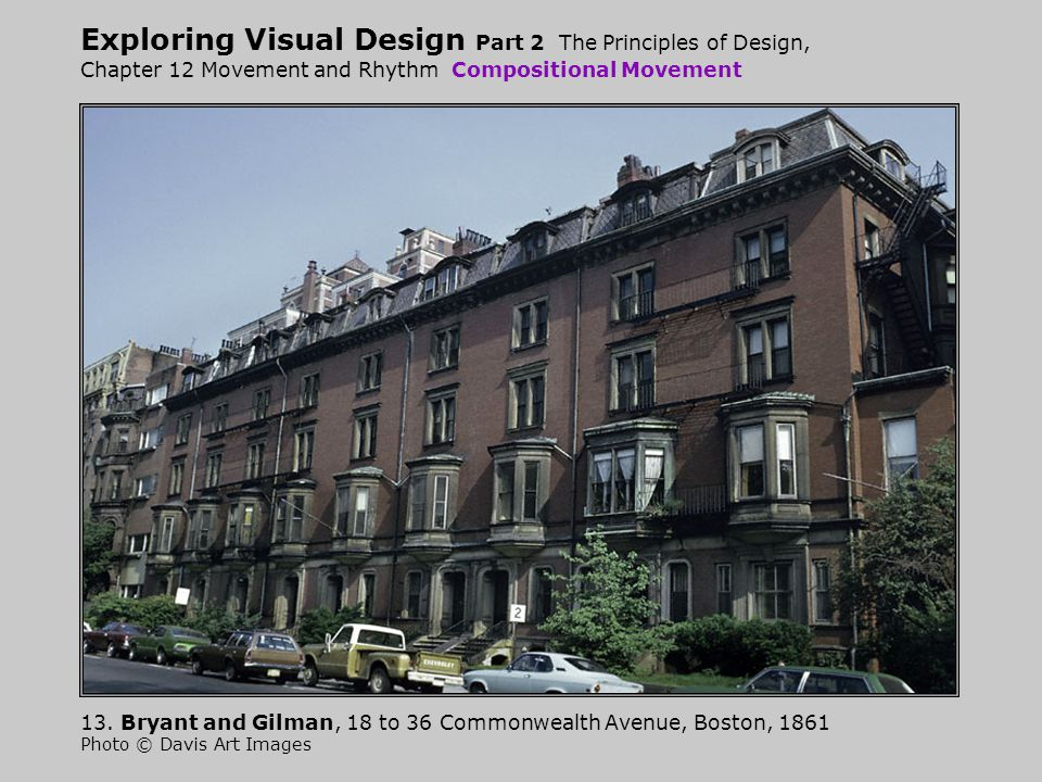 Exploring Visual Design Part 2 The Principles of Design, Chapter 12 Movement and Rhythm Compositional Movement 13.