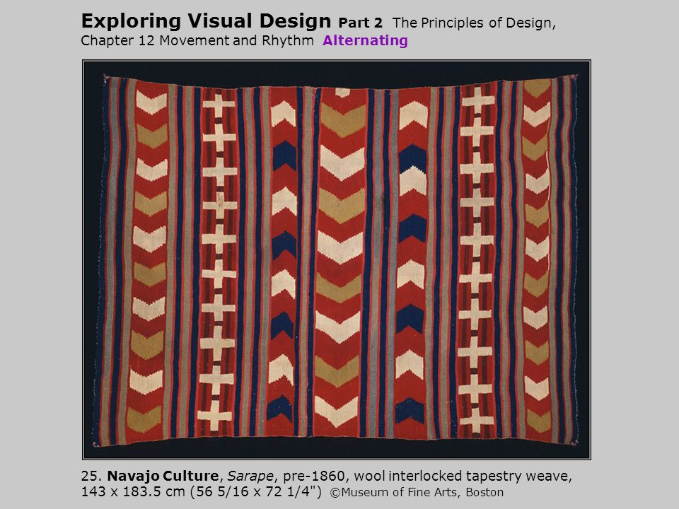 Exploring Visual Design Part 2 The Principles of Design, Chapter 12 Movement and Rhythm Alternating 25.