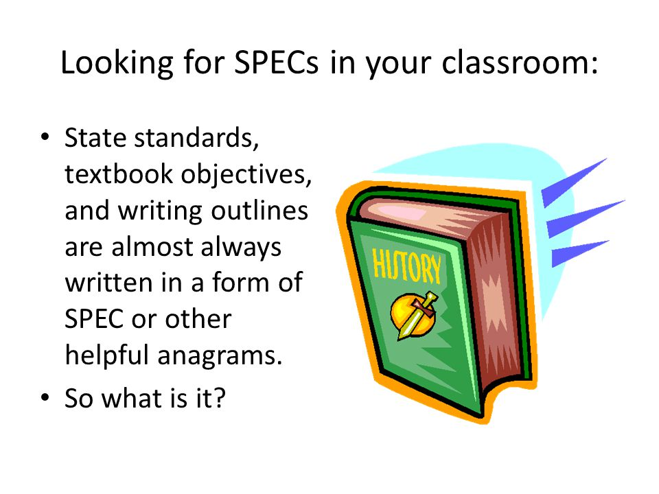 SPEC Social – Having to do with people in groups, their living together, includes issues such as gender, economic status, and ethnicity.
