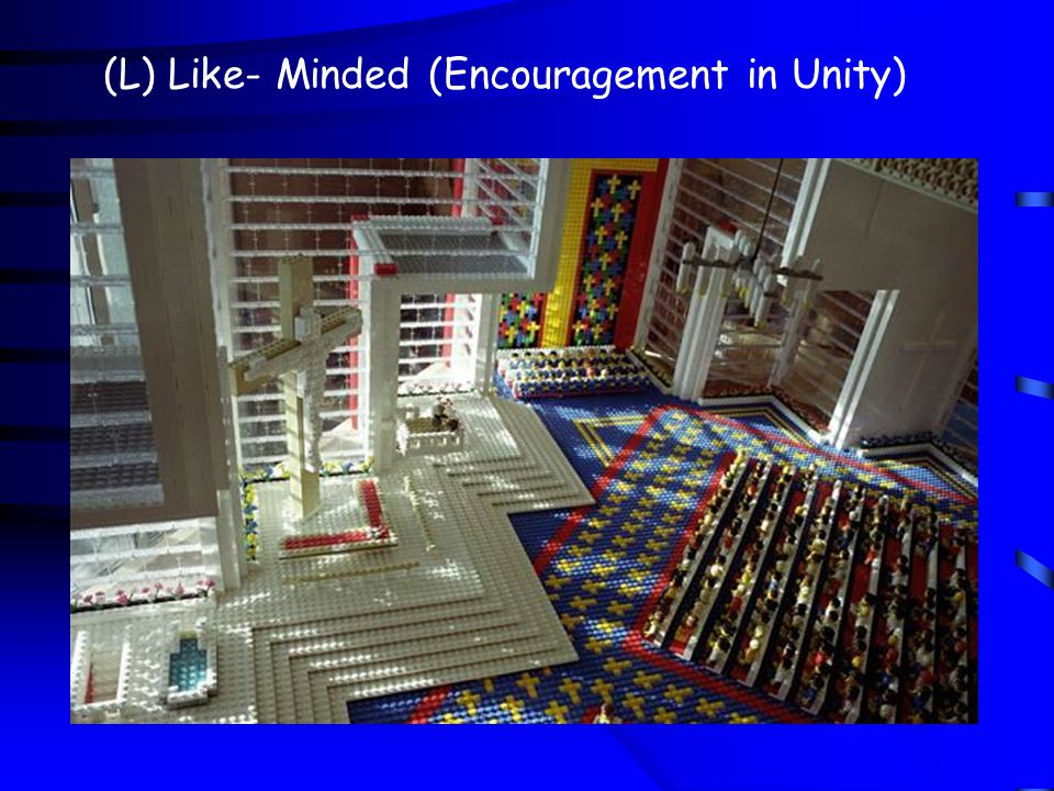 (L) Like- Minded (Encouragement in Unity)