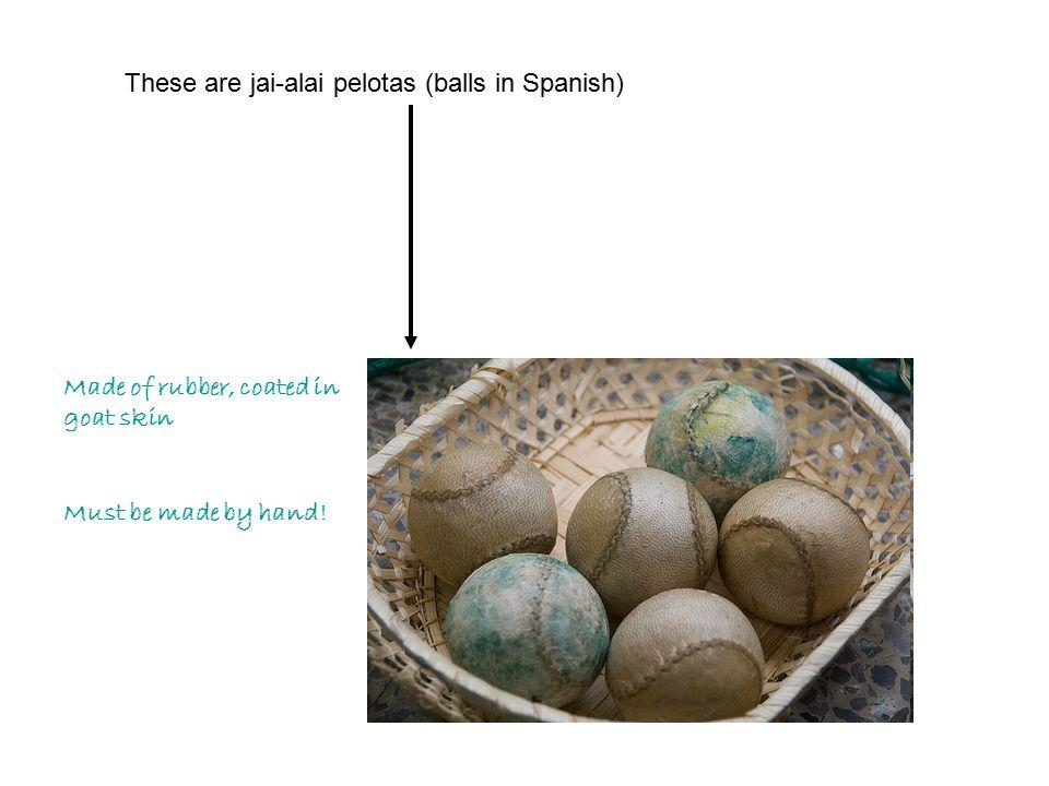 Cesta with basket (AKA xistera)