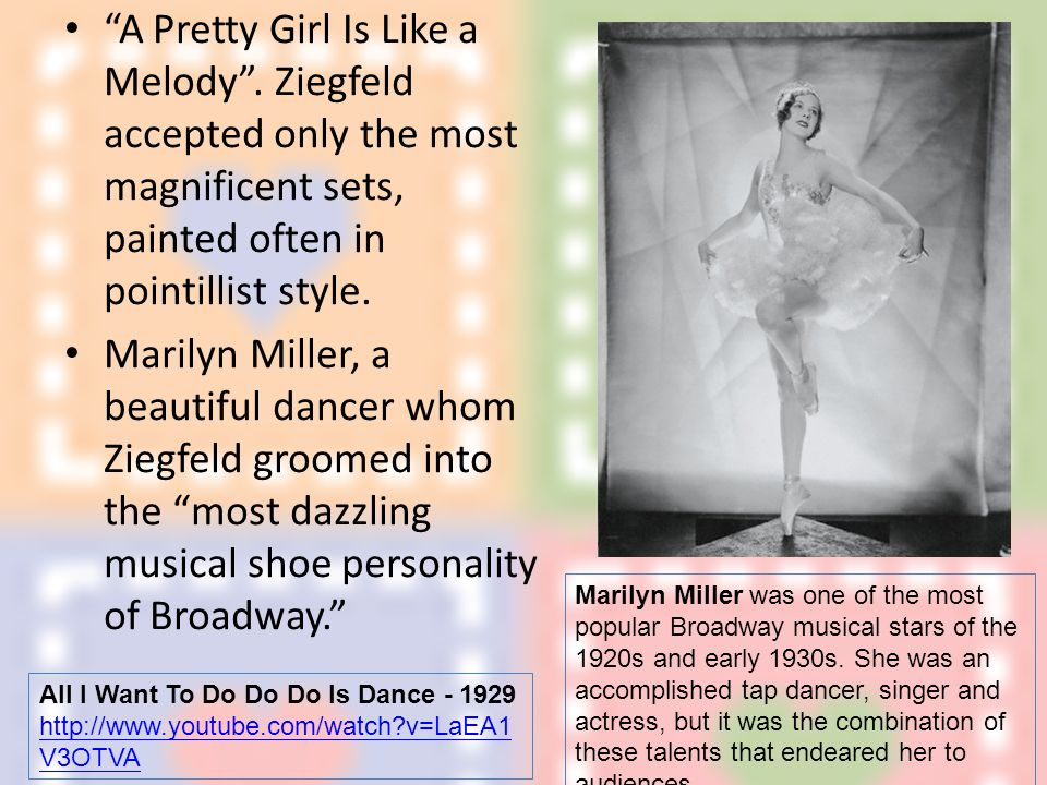 A Pretty Girl Is Like a Melody .