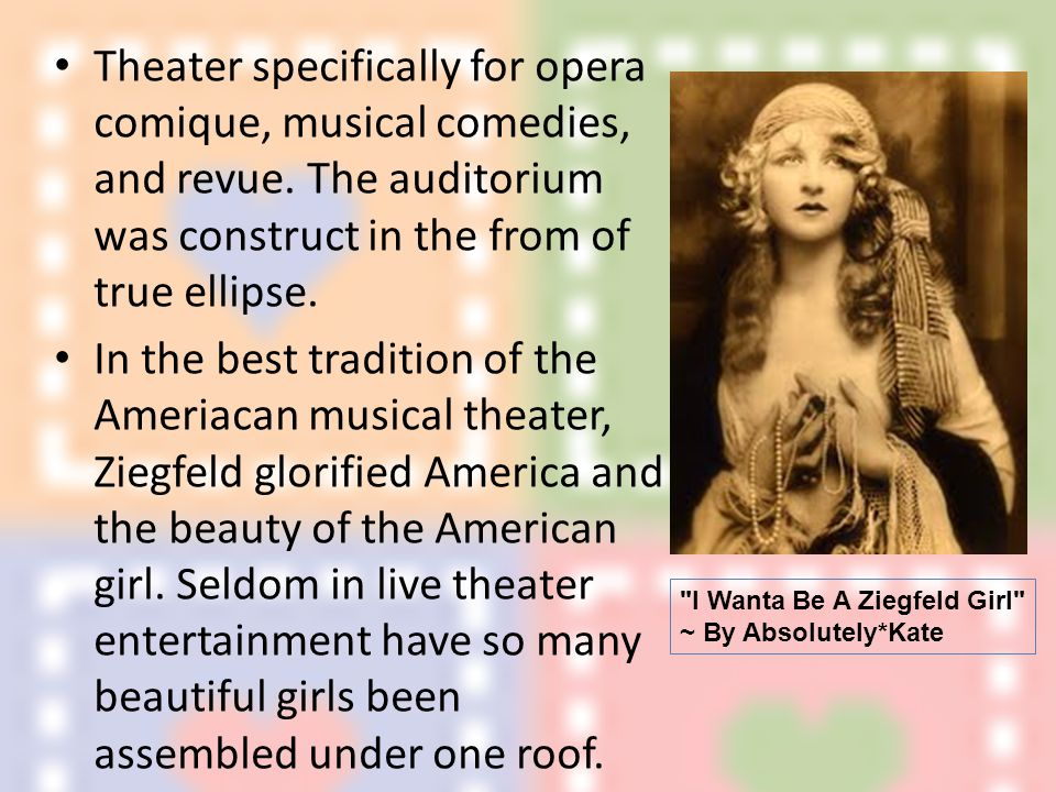 Theater specifically for opera comique, musical comedies, and revue.