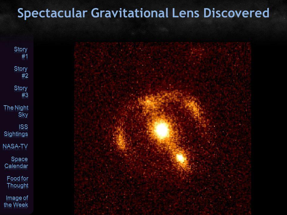 Spectacular Gravitational Lens Discovered