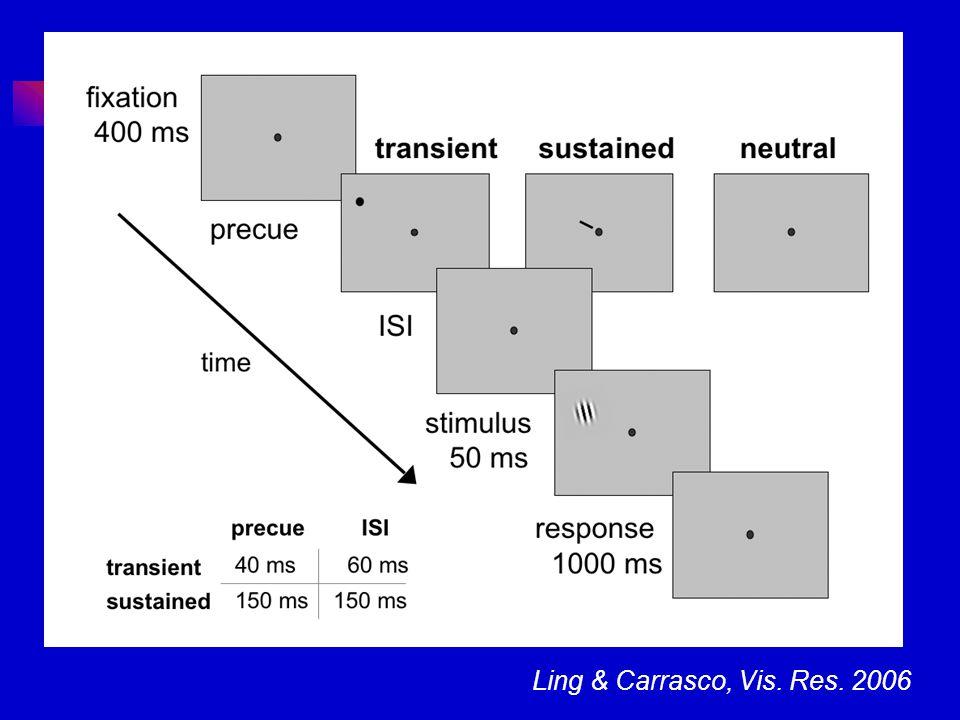 Ling & Carrasco, Vis. Res. 2006