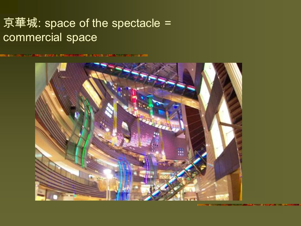 京華城 : space of the spectacle = commercial space