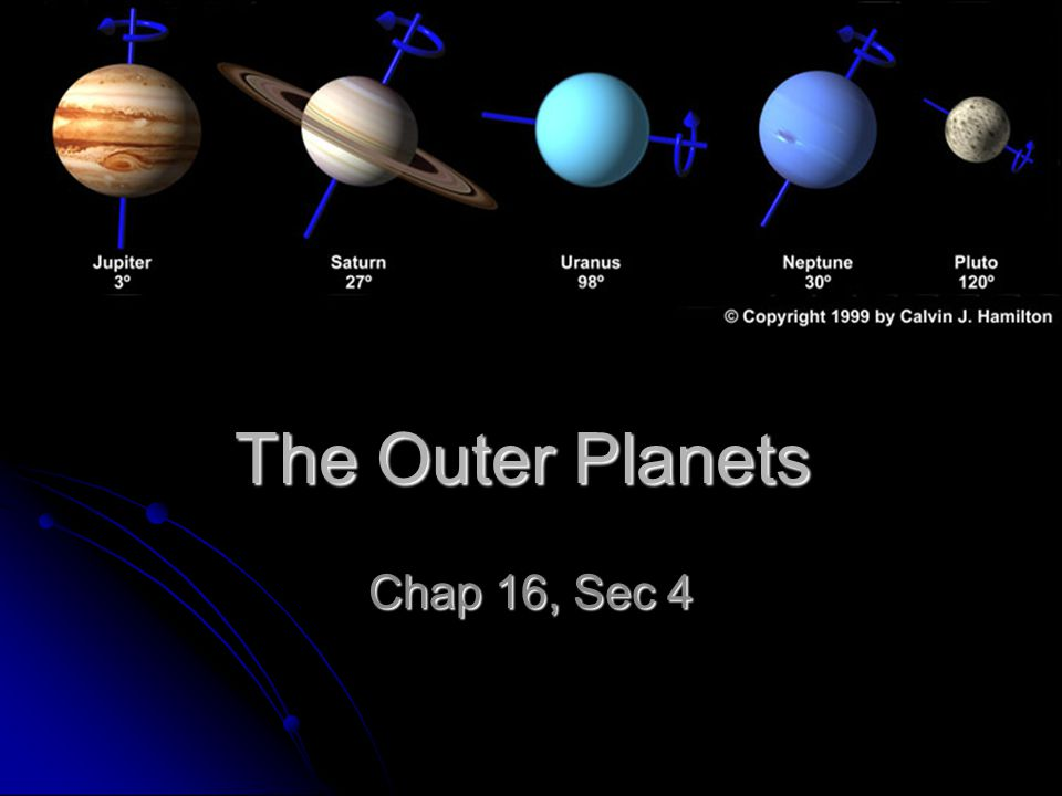 Chap 16 Sec 4 Essential Questions 1.What characteristics do the gas giants have in common.