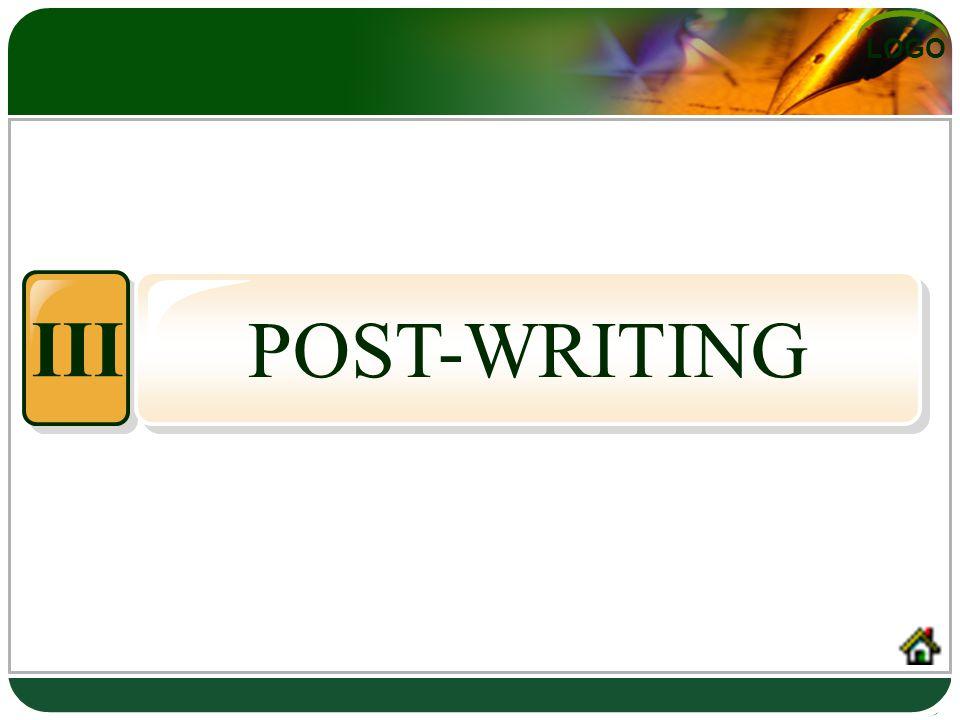 LOGO POST-WRITING III